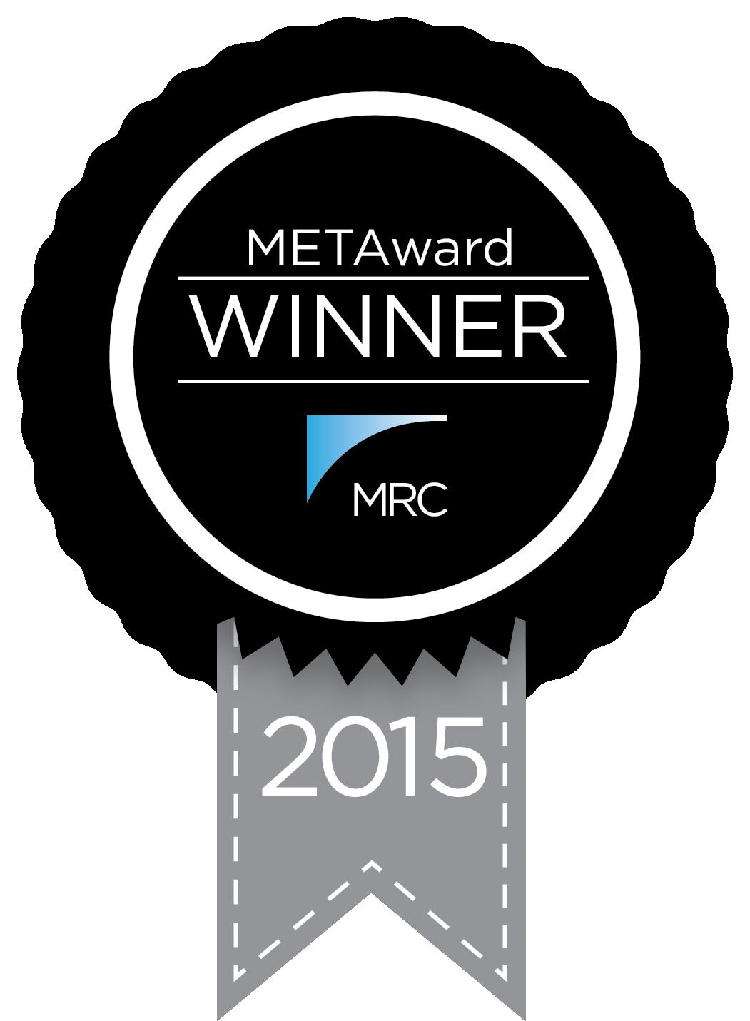 2015 Winner of Merchant Risk Council METAwards