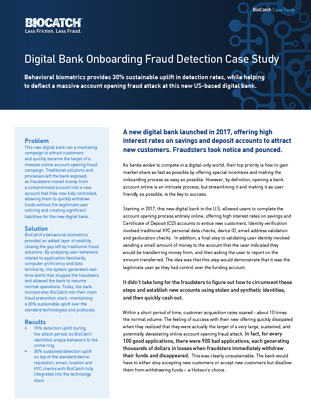 Digital Bank Onboarding Fraud Detection Case Study