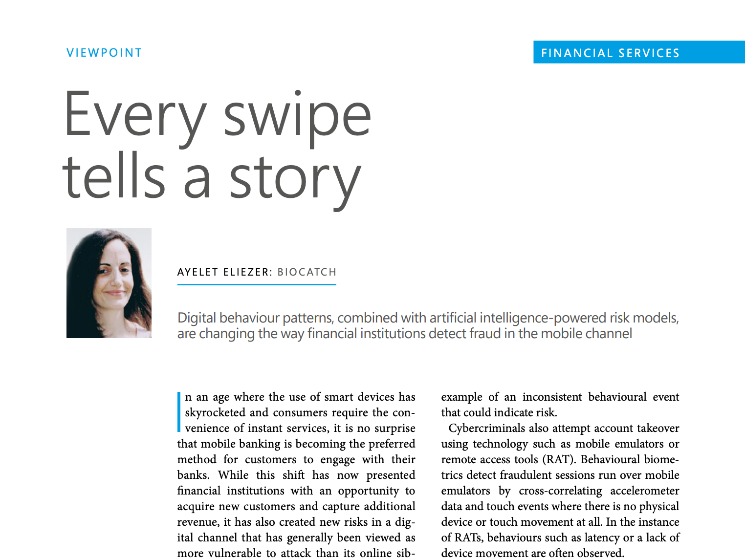 Every Swipe Tells a Story