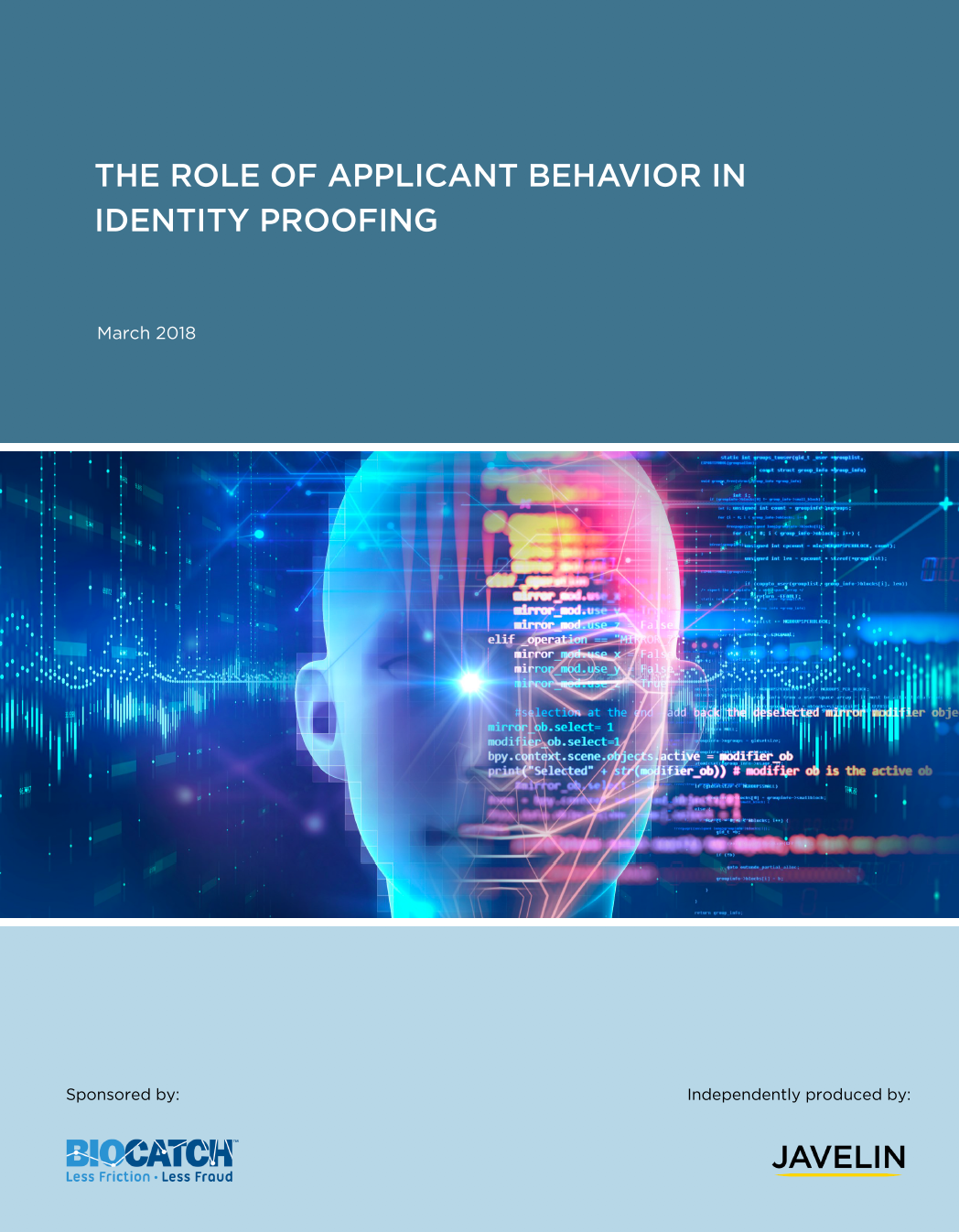 Managing the Risk of Application Fraud with Behavior-Based Identity Proofing
