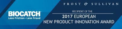 BioCatch won 2017 European New Product Innovation Award